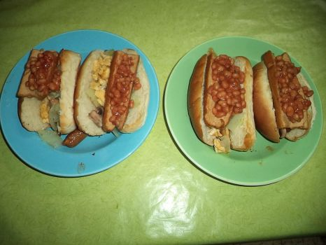 Vegetarian Hot dogs by Nightreign123