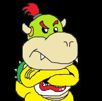 Bowser Jr Draw by BowserJrOfficial