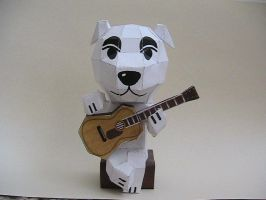 K.K Slider papercraft by may7733