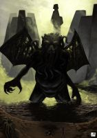 The Great Cthulhu by BAproductions