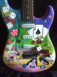 Pin up Girl guitar by jamesplasencia