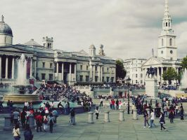Trafalgar Square by ScENeYmE