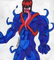 Symbiote Cyclops by ChahlesXavier