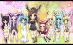 Eeveelution Fashion by Geegeet