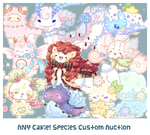 [Open!] Custom Slot Auction - ANY Cakie! Species by Sarilain