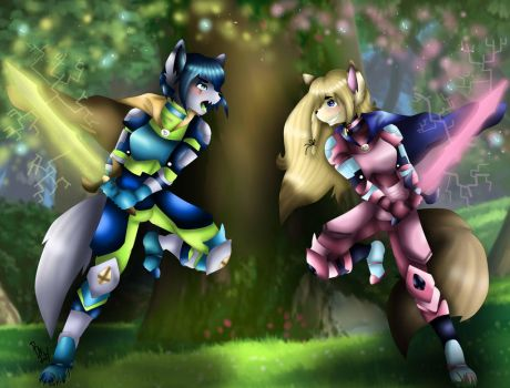 Time To Fight by LeaLenTilla