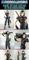 Custom FFVII Zack Fair by KyleRobinsonCustoms