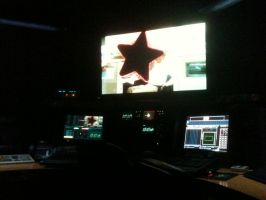 Film Color corrector room by Volts48