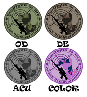 Twilight Sniper Patches Design by sudro