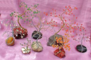 wire trees by Craftcove