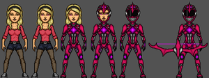 Pink Ranger by FuryBoy12