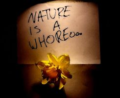 Nature Is A Whore by kinglanky