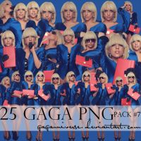 LADY GAGA PNG PACK 7 by gagauniverse