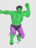 The Incredible Hulk by McArthur525