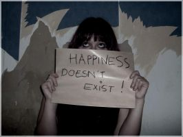 Happyness doesnt exist by arti-chaut