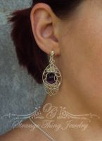 Earrings Glory by GladOlga