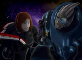 Mass Effect:  Through the Fire by Armesan
