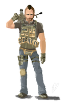 "John ""Soap"" Mactavish by EMCarts"
