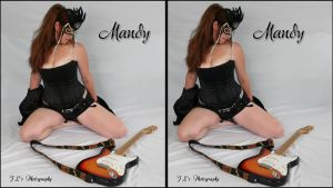 One of my First 3D Shots with Mandy as my model by zippy6234