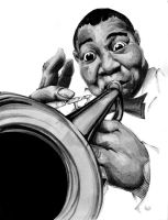 Louie Armstrong by BiggCaZ