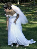 Bride-Lean Forward by Della-Stock