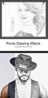 Pincle Drawing Effects by hazrat1