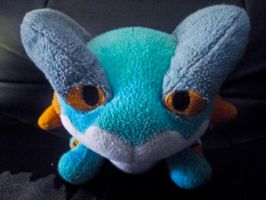 Swampert Plush by Hunter-Arkaman