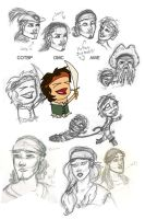 POTC doodles - mostly Will x3 by anya1916