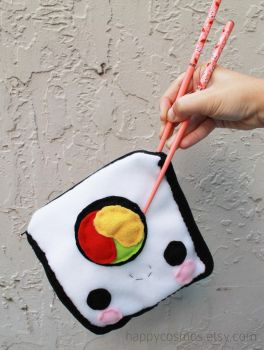 Sushi Pouch by CosmiCosmos