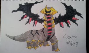 Giratina #487 by BlueScarlet77