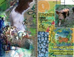 Journal cover front and back by iscaylis