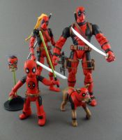 Deadpool Family-Corps by Central-Cali-Custom