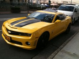Chevrolet Camaro SS Transformers BumbleBee by NissanGTRFan