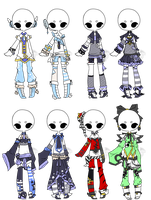 .:Adopted:. Outfit Batch 03 by DevilAdopts