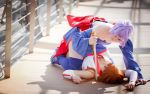 Dead or Alive - Kasumi and Ayane by Rubyrelle