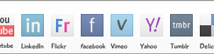 Social Media Icons by BramDevries
