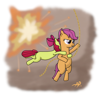 Scoots to the Rescue by sgtgarand