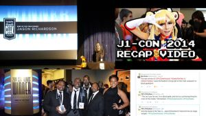 My anime con J1-Con and the Geek Awards in 2014 by levonn78