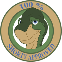 Shorty Approved Sticker by RockingScorpion