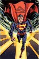Superman: Man of Tomorrow by scottreed