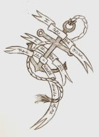 BMTH Anchor Tattoo Draft by MinoriTsuki