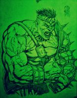 World War Hulk by DanielDahl
