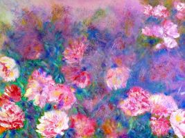 Peonies by ClaireBullFineArt