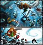 Robot Penguin Death Battle by RayArray
