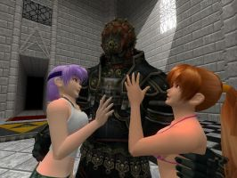 Ganondorf loves the ladies by rcoolcat2