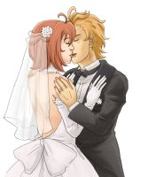 Kiss the Bride by Yoru-no-Angel
