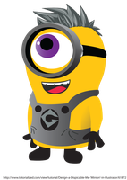 MY MINION haz a mohawk by qorter