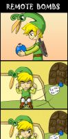 Minish Cap: Remote bombs by SpringSounds