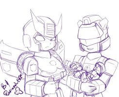 TF - Prowl Jazz and Lambos by plantman-exe