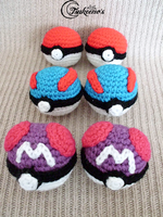 Pokeball Super Ball Master Ball by Raichely